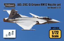 Wolfpack WP72074, JAS-39C/D Gripen RM12 Engine Nozzle set (for Revel, SCALE 1/72
