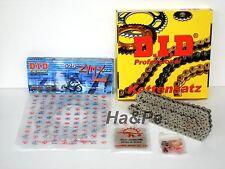 * Yamaha XT 250 DID Kettensatz chain kit 520 ZVM-X S&S silber 1980 - 1990