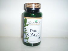 PAU d'ARCO 500MG PROSTATIS INFECTIONS PARASITE REMOVAL SUPPLEMENT 100 CAPSULES