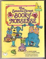 Sesame Street  THE SESAME STREET BOOK OF NONSENSE  1980  Muppets Ex++