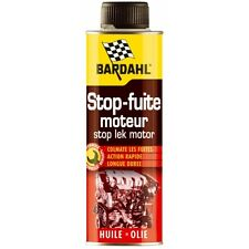 STOP FUITE D'HUILE MOTEUR FUITE HUILE BARDAHL COLMATE LES FUITES 300ML 1107
