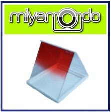Gradual Red Square Filter for Cokin P Series Compatible