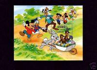 DOMINICA - 1984 - DISNEY -  EASTER BUNNIES - MICKEY - GOOFY - MINT  S/SHEET!