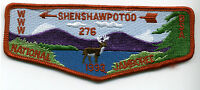 SHENSHAWPOTOO LODGE 276  BSA 1993 BOY SCOUT NATIONAL JAMBOREE 2019 PATCH OA FLAP