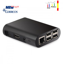Carcasa Raspberry Pi 2 3, Model B B+ Carcasa negra Black Case Shell Box SP