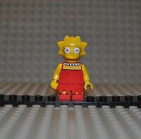 Lego Figur sim010 Lisa Simpson colsim