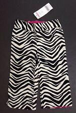 NWT Gymboree Wild One 12-18 Months Zebra Stripe Velveteen Pants