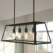 Kitchen Pendant Light Bar Lamp Black Chandelier lighting Elegant Ceiling Lights