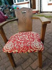 More details for arts and crafts art nouveau antique chairs,reduced,