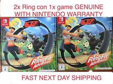 2x Ring Fit Adventure Nintendo Switch -  BRAND NEW *** FAST POSTAGE ***