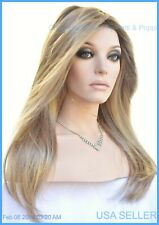 ZARA RENAU LACE FRONT MONOTOP WIG  *ROOTED BLONDE 24BT18S8 HOT SLINKY SEXY