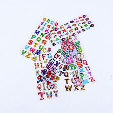 Cartoni 10x 3D trasparente Adesivo Bambino alfanumerico Bolle Sticker CH