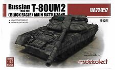 Modelcollect Russian T-80UM2, Black Eagle Main Battle Tank in 1/72 057 ST