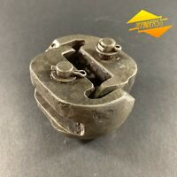 VINTAGE 'ECMO 100' CAST STEEL UNIVERSAL CHAIN JOINING JOINT INDUSTRIAL HANGING
