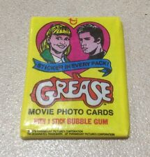 1978 Topps Grease Series 1 - Wax Pack (Smooooth 'n' Juicy Variation)