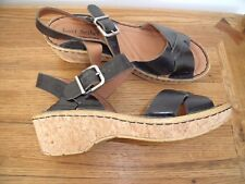 Josef Seibel  European Comfort Black Sandals size UK 6 EU 39