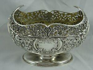 SUPERB, EDWARDIAN silver JARDINIERE, 1904, 257gm