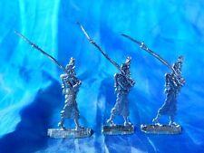 Plats d'étain - flat tin - zinnfiguren : 3 chasseurs d'afrique - France 1870 (2)