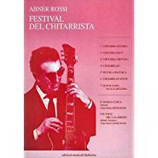 Abner Rossi: FESTIVAL DEL CHITARRISTA.++ libro nuovo !!! ++