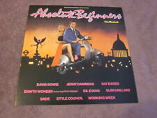 New listing Absolute Beginners-The Musical 1986 12x12 Promo 2-Sided Flat Poster Bowie Sade