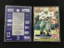 NATIONAL SPORTS COLLECTORS CONVENTION 1992 PROMO EMMITT SMITH FOOTBALL CARD