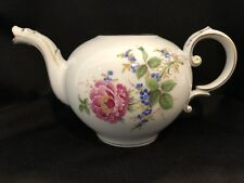 Hochst Hand-Painted Porcelain Floral Teapot Without Lid Made In Germany New