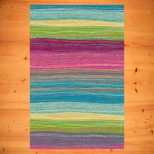 Kinderteppich Jugendteppich Modernes Farbenfrohes Design Kind Multi 6 Größen