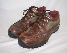 CHIPPEWA. CHIPP-A-TEX. VIBRAM. BROWN LEATHER. WATERPROOF. ANKLE BOOTS LOW 12D
