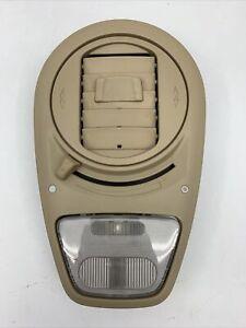 2005-2010 HONDA ODYSSEY OVERHEAD ROOF DOME READING LIGHT W/ AC AIR VENT OEM TAN