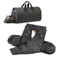 Convertible Men's Suit Garment Bag Carry On Travel Luggage Gym Sports Duffel Bag