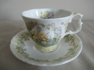 ROYAL DOULTON ~ BRAMBLY HEDGE ~ SPRING ~ CUP & SAUCER