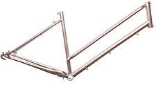 Fahrradrahmen in Silber