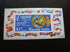 HONGRIE - timbre yvert et tellier bloc n°119 n** (non dentele)(Z9)stamp hungary