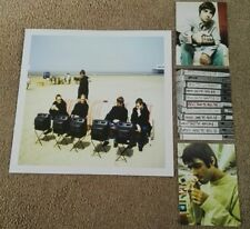 "Oasis wtsmg Box Set ""Roll con ella"" imprimir & postales X3 rara-Noel Gallagher"