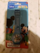 Disney Mickey Mouse Clubhouse Lcd Digital Watch