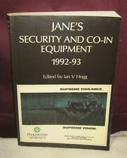 JANE'S SECURITY AND CO-IN EQUIPMENT 1992-93 MILLITARY 11/17