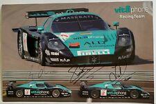 Bertolini, Bartels Hand Signed Vitaphone Racing.