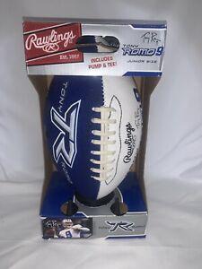 TONY ROMO youth football Dallas Cowboys NFL Rawlings