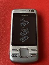 New ORIGINAL Nokia Slide 6600i Slide - Silver (Unlocked) Mobile Phone