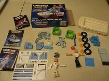 Vintage Fisher Price Construx Lot 1980�s, figures & pieces, instructions decals