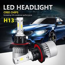 200W 20000LM H13 9008 LED Headlight Kit Light Car 6500K White Hi/Lo Beams Bulbs