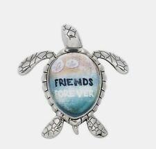 """Sea Turtle Message Figurine """"Friends Forever"""" Ganz Friendship"""