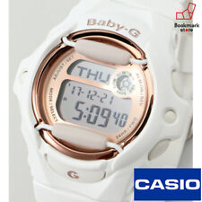 """New"""" CASIO BABY-G White/Gold BG-169G-7JF Pink Gold Series Women's from JAPAN"""