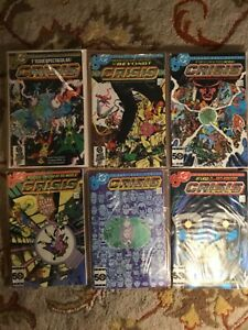 CRISIS ON INFINITE EARTHS  COMPLETE SET 1-12  GEORGE PEREZ  DC 1985  NICE!!!
