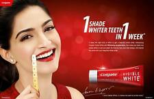 Colgate Toothpaste Visible White Sparkling Mint - 100gm x 2 (Pack of 2)