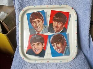 THE BEATLES ORIGINAL WORCESTER BREAKFAST TRAY GENUINE 1964 ISSUE MADE IN GB !