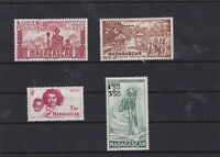 madagascar mounted mint stamps  ref 7191