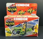 Kenner 1985 MASK Condor Bike With Brad Turner Action Figure With Box