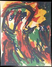 Karel Appel, Tête 1961, Hand Signed Lithograph