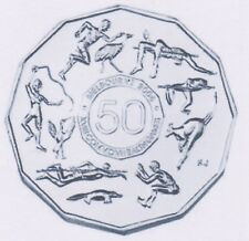 2005 50 Cent Melbourne Olympics Student Design UNC Scarce in High Grades Ex Roll